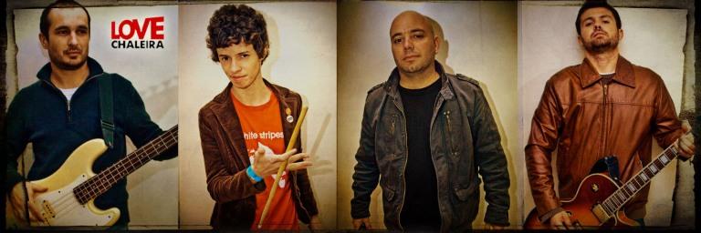Rodrigo, Dudu, Rafa e Zé Roberto
