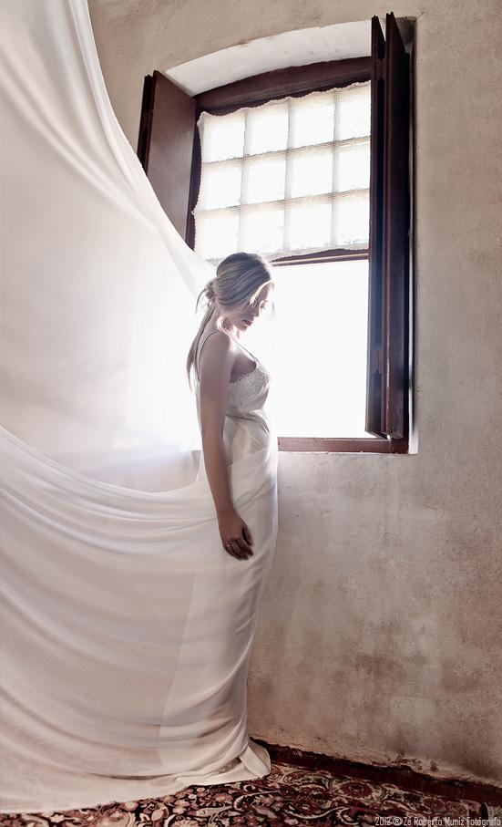 1 tecido janela