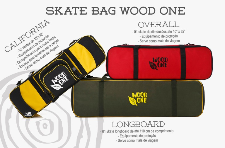 Skatebag WoodOne